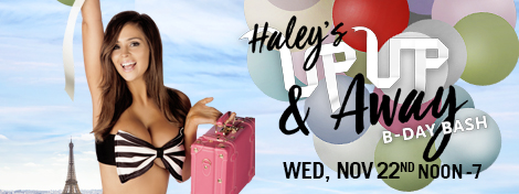 Haley's Up up & away b-day bash!